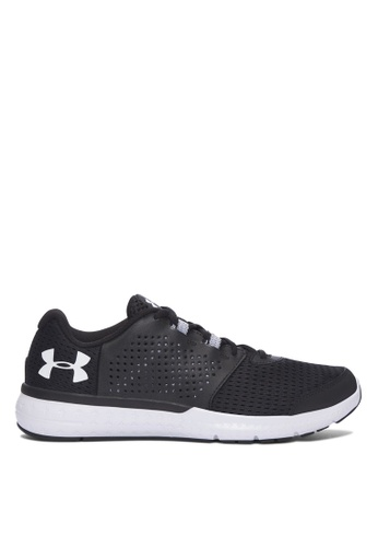 Under Armour black UA Micro G Fuel Running Shoes UN337SH72ZNVMY_1