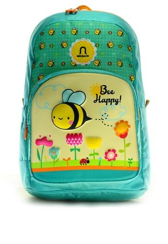 NEOSACK green Neosack Kids Backpack Bee Happy 73ACFKCBC9C190GS_1