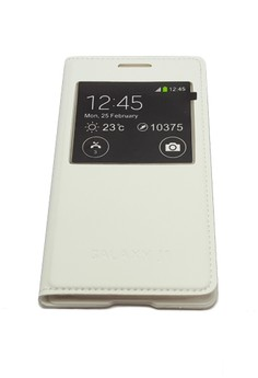 S-View Flip Cover for Samsung Galaxy J1