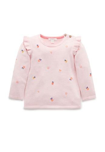 Purebaby pink Tutti Frutti Jumper 41794KA8EDB2C2GS_1