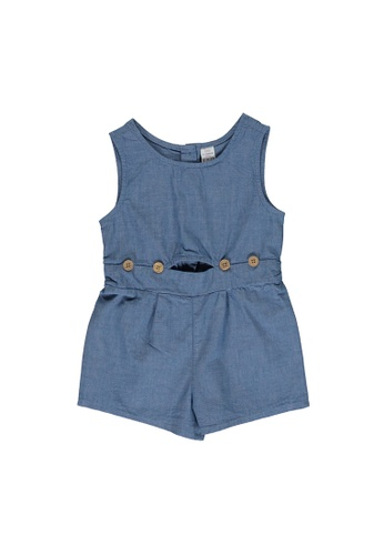 LC Waikiki blue Baby Girl's Playsuit 2548DKA9C3709AGS_1