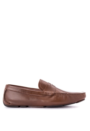 G&G brown Officine Men's Shoes GG012SH0KEP4PH_1