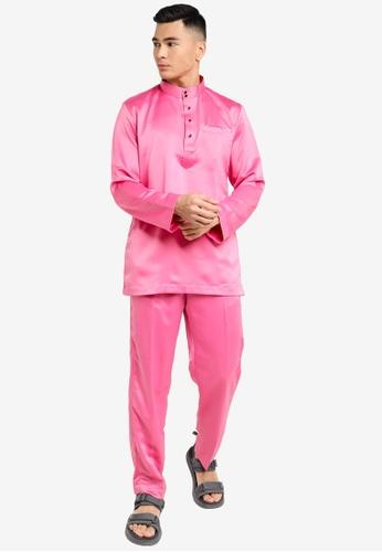 REALFANTASY pink BAJU MELAYU SHAH ISKANDAR 27EE4AA2400568GS_1