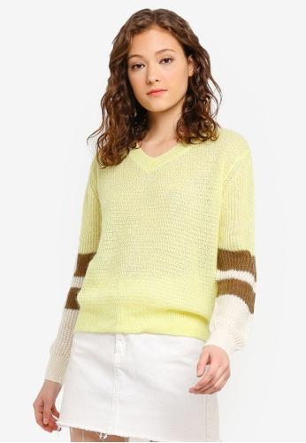 SCOTCH & SODA 多色 撞色袖針織衫 54549AA63EAAD0GS_1