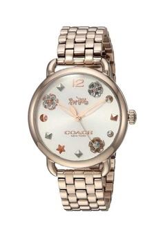 6db515397e38 Coach pink Coach Delancey Rose Gold Watch 09457AC87C310DGS 1