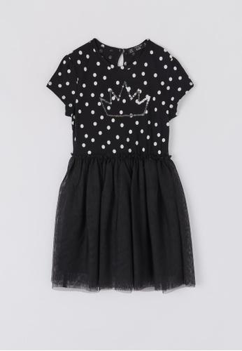 Terranova multi Girls' Polka Dot Princess Dress 4F9D5KA5F7A88EGS_1