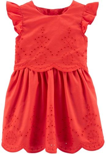 Carter's red CARTER'S Girl Red Dress 4DE0FKA237A75FGS_1