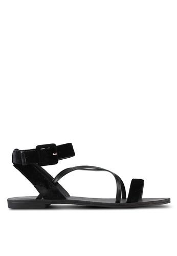ZALORA black Multi Strap Sandals AD259SH1302120GS_1