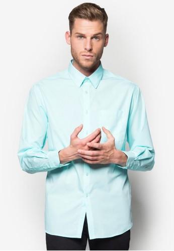 素色合身商務襯衫, 服飾, 襯esprit outlet 家樂福衫