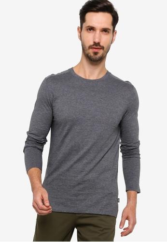 BOSS grey Tenison 06 T-Shirt - BOSS Men F707DAAFEA1C7AGS_1