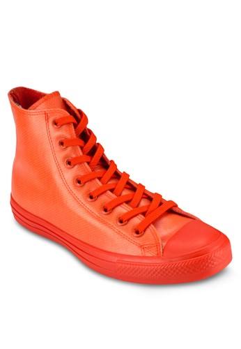 Chuck Taylor All Star 半透明橡膠高筒休esprit taiwan閒鞋, 女鞋, 鞋