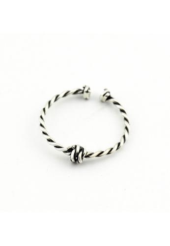 OrBeing white Premium S925 Sliver Geometric Ring E04A7AC4018E20GS_1