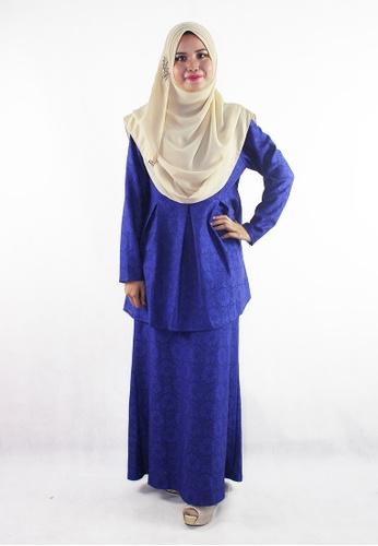 Denai Boutique blue Baju Kurung Jannah A8040AA90A559CGS_1