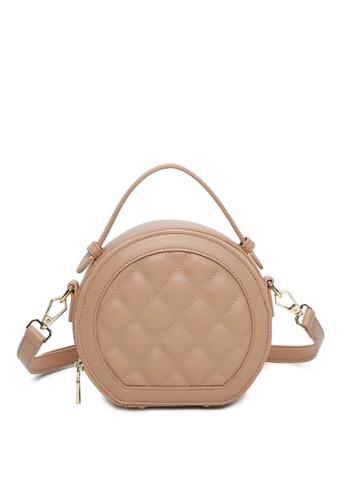 Milliot & Co. pink Sibyl Top-Handle Bag BFC31ACFDF50C7GS_1