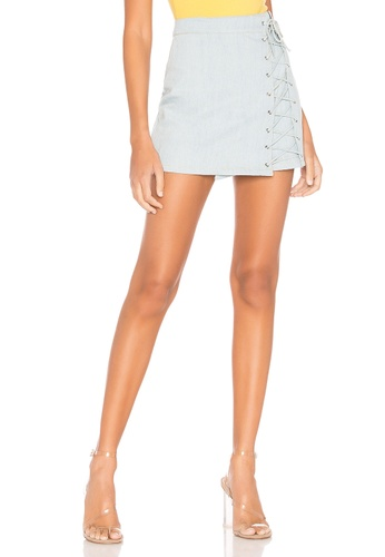 new authentic top-rated discount search for official Pamela Denim Skirt(Revolve)