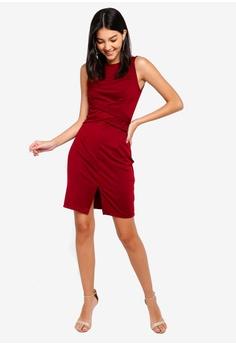ce3c28ec145 45% OFF ZALORA Ponte Bodycon Dress RM 105.00 NOW RM 57.90 Sizes XS S L XL