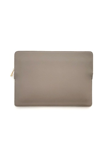 "Knocks grey 15.6"" Slim Laptop Sleeve Grey C96BCACDA6CCFEGS_1"