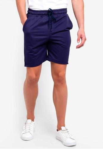 UniqTee navy Jogging Style Bermuda Shorts DC7B2AA61C5F79GS_1
