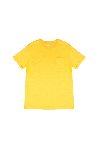 FOX Kids & Baby yellow Essential Pocket T-Shirt A02A4KAF659891GS_1