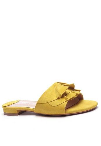 Twenty Eight Shoes 荷葉邊涼鞋6848-1 D8776SHE68404AGS_1