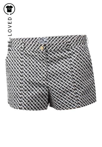 Diane Von Furstenberg black Pre-Loved diane von furstenberg Geometric Shorts 98A8DAAFE442FBGS_1