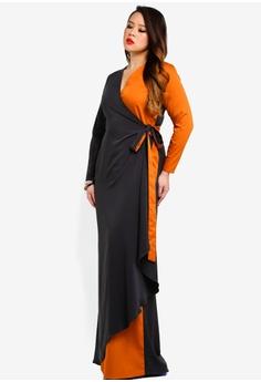 a1469588f49 Love By Syomir multi Ginn Wrapped Dress 1B979AAFC761B8GS 1