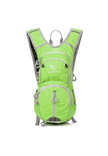 Local Lion Local Lion Lightweight Casual Daypack Cycling Backpack ODU 12L (Green) LO780AC06YNPMY_1