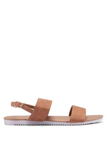 Rubi brown Everyday Marley Minimal Sandals 3B0A1SH8FA6F5EGS_1