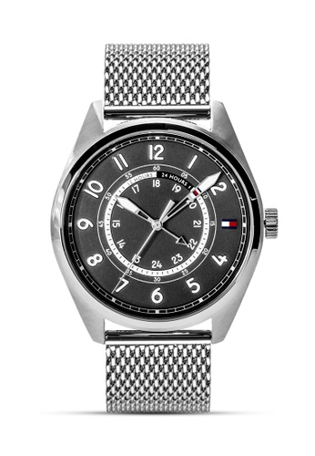 Tommy Hilfiger Watches silver Men's Stainless Steel Watch TO959AC0JXLVPH_1