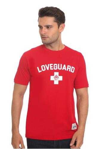 Endorse red Endorse Tshirt E Loveguard Red M - END-RI004 C20F5AAEB67D8AGS_1