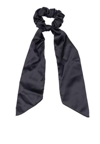 Rubi black Lexi Scarf Scrunchie C5B70ACE2093FCGS_1