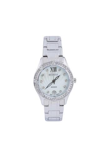 BONIA silver Jam Tangan Bonia Rosso Jam Tangan Wanita BR127-2353S Original 88A3BAC18633B7GS_1