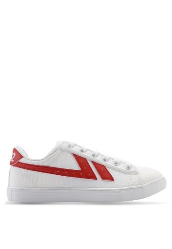 Kolca 白色 and 紅色 1992 Barcelona Sneakers 38FD0SH1DDBB34GS_1