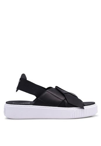 Puma black Puma Platform Sandals PU549SH0SWENMY_1