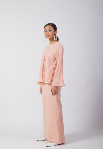 SUEKA SUEKA Adorbs Kurung Set in Pink from SUEKA SUEKA in Pink