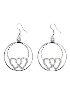Clique Candy Love Double Loop Studded Heart Graduation Day Sale