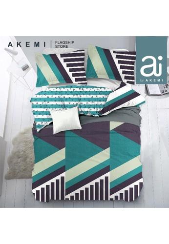AKEMI green Ai by Akemi Lovesome - Lucja Fitted Sheet Set. 5A39EHL27F25E4GS_1