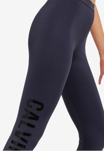 af559f65fc51f2 Buy Calvin Klein Side Logo 7/8 Leggings - Calvin Klein Performance Online |  ZALORA Malaysia