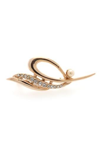 1901 Jewelry gold 1901 Jewelry  Leaf Brooch 1595 19910AC20VFFID_1