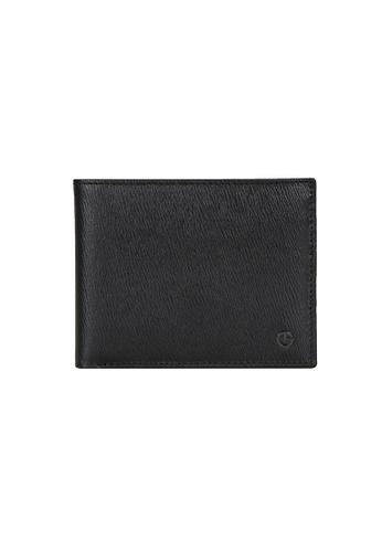 Goldlion blue Goldlion Men Leather Wallet (8 Cards Slot) - Black 6A187AC862B8ABGS_1