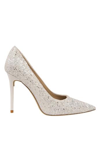 Twenty Eight Shoes 白色 閃片晚裝及新娘鞋 VP92191 955EASH06D7242GS_1