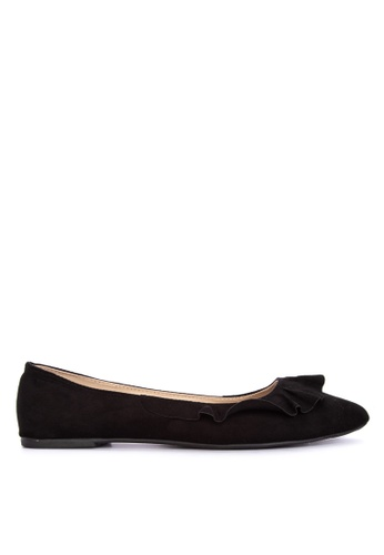 BENCH black Pointed Ballerina Flats D39FASHF124AC1GS_1