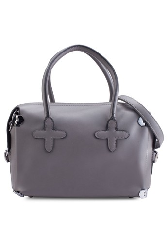 雙提把仿皮手提包, 包, esprit服飾手提包
