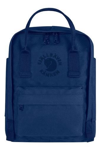 Fjallraven Kanken blue Midnight Blue Re Kanken Mini Backpack 93309ACAA50BFBGS_1
