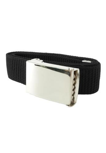 Swan black Swan Kids Primary Secondary Boy's Belt - Black 134E1KC31088FBGS_1