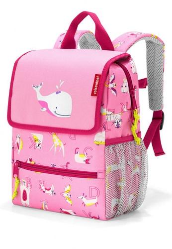 Reisenthel BackPack Kids ABC Friends Pink 872EFKCAECF984GS_1