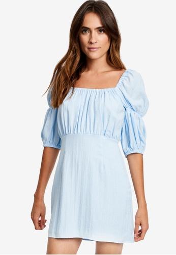 Savel blue Sammie Mini Dress F9EF5AA2D56DB8GS_1