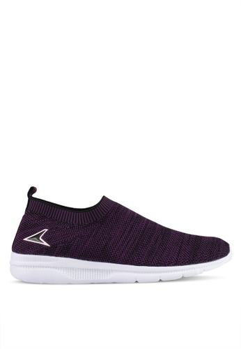 Power white and purple Power Athletic Walking Shoes 3B3F9SH4F0E630GS_1