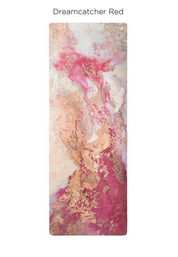 Sugarmat pink Dream Catcher No.3 Red - Suede Travel Yoga Mat (1MM) 58191SE352F03BGS_1