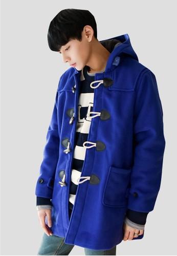 牛角esprit 品牌釦大衣, 服飾, 外套